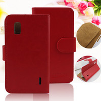 Wallet PU Leather Case for Google LG E960 Nexus 4