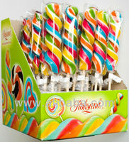 hard candy swirl lollipops 60g