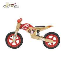 12'' Baby Wooden Balance Bike with EN71 Motorlite toy bicycle