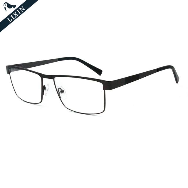 Rectangle Spectacle Frame Popular Brand Design Men Eyebrow Laser Optical Eyeglasses Frame 710JG351040