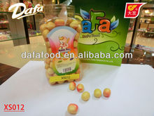 dafa yellow round ball tutti-frutti packaging bubble gum