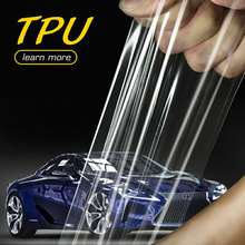 Double nano coating TPU pure car paint protection film