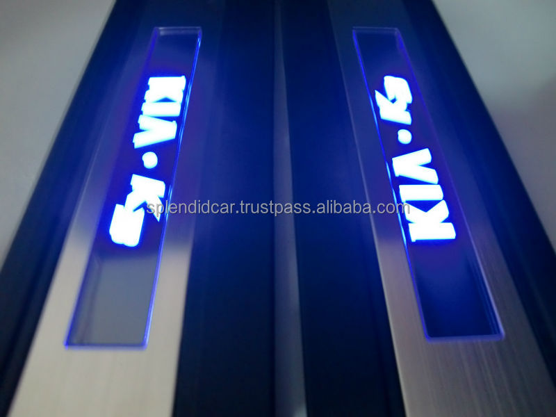 Automobile LED Illuminated Door-sill
