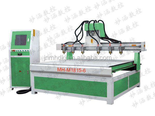 1325 Woodworking Jinan Multi Spindles Drilling-Grooving CNC Machine