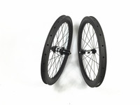 650c carbon wheelset 38mm clincher 25mm wide carbon wheels for road bicycle DT 350S + Sapim Leader spokes for small bike