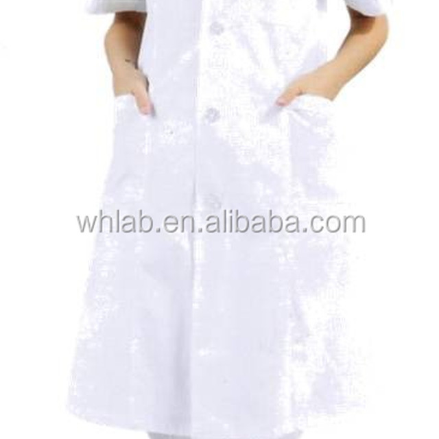 Doctor s gown lab coat for women