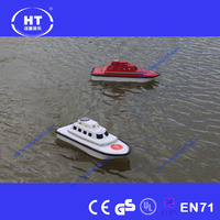 Remote control boats 2.4G remote control RC Boat for inflatable pool