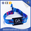 New design wholesale factory price popular Polyester / Satin / Imitation Nylon RFID wristband for events