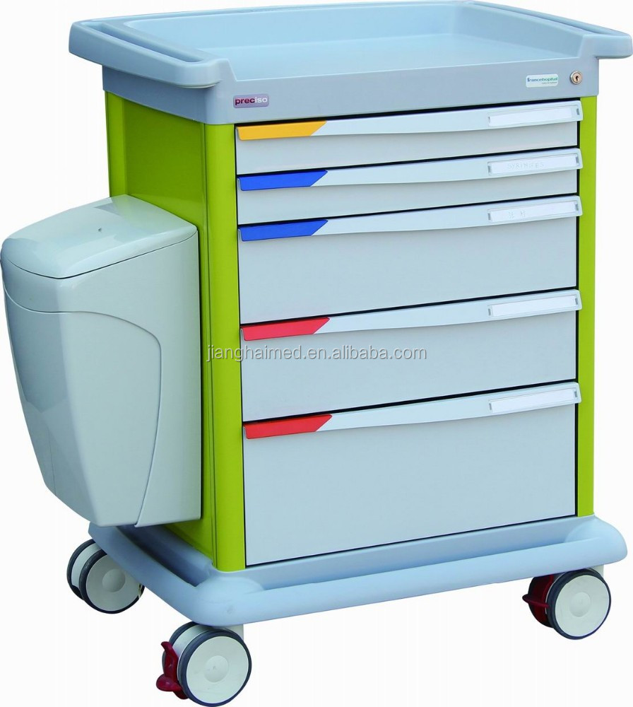 hospital medical ABS treatment trolley