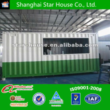 Low cost and easy assembled steel structure prefab mobile container shop ,mobile container shop