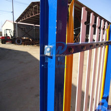 Decorative Steel Euro Fence / Cheap Palisade Fences Panel