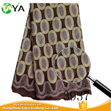 Widely Used With Firm and Strong Decoration Voile Lace Fabric