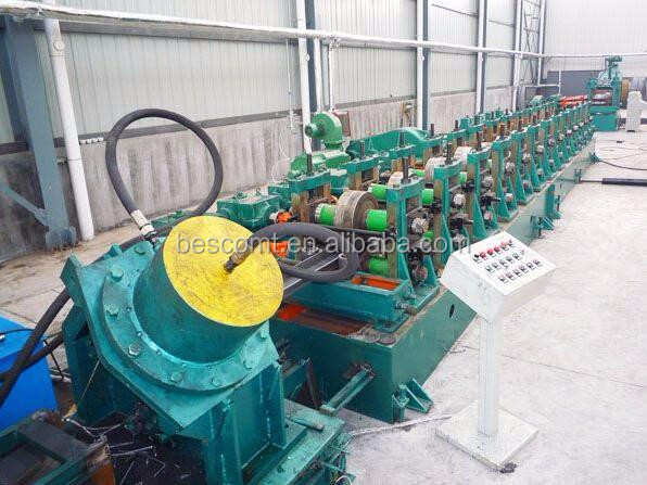 BESCO high speed fly cut fly punch drywall metal stud roll forming machine
