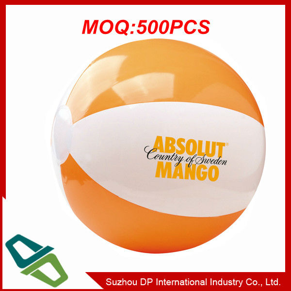 Plastic PVC Inflatable Beach Ball with Logo