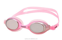 Wholesale Advanced Mirror Coated cool Swimming Goggles for Adult
