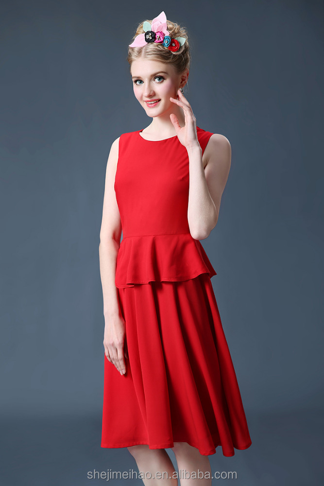 2016 wholesale clothing fashion dress of china clothing manufacturer for woman clothing