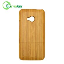 Wholesale ultra slim eco-friendly real wood phone case for HTC One M7