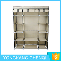 2016 New Model Beige Plastic Storage Wardrobe For Kids Clothing TM-211