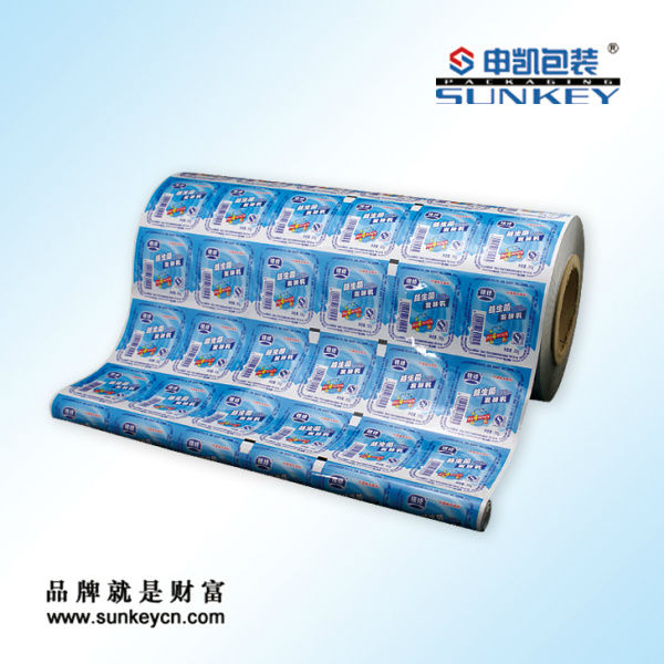 jelly printing packaging film roll film
