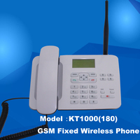 Fixed phone with SIM card slot GSM wireless phone