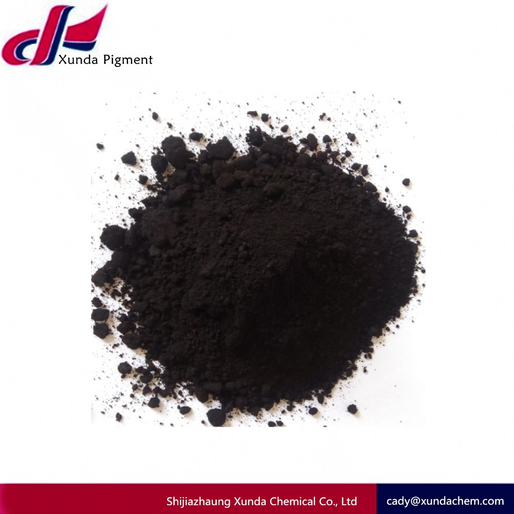 Inorganic pigments and pigment style plastic rubber pigment ink use iron oxide black 330