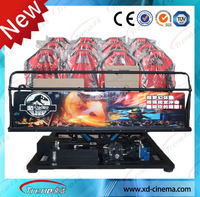 Hydraulic motion hydraulic 5d cinema equipment hot sale/ investment 5d cinema electric 7D film system kino 12d