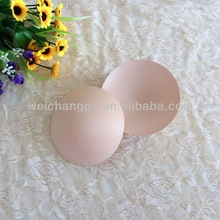 Round shape fabric sweat absorbent bra cups pad for swimwear