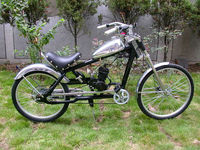 Wopper Stopper Chopper made for using 2 stroke China bicycle engines