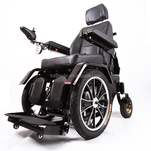 paralyzed person use power wheelchair stand up