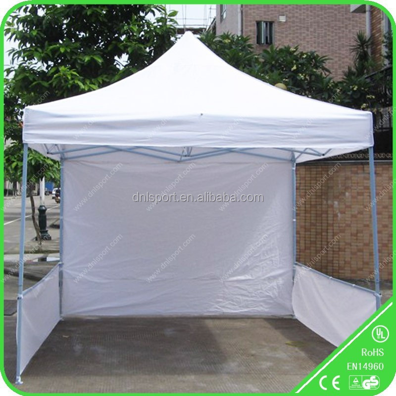 10 x 10 Easy Set Pop Up Party Tent Canopy Marquee best sell outdoor gazebo with sidewalls Black