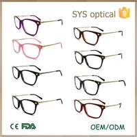 Modern styles high quality acetate optical eye frame wholesale