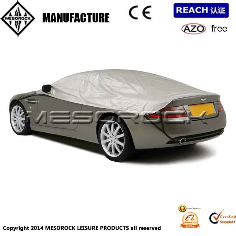 High Quality Waterproof Auto Cover Car Half Top Cover