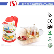 1.8L Best Chinese Style Electric enamel Tea Kettles Water Kettle