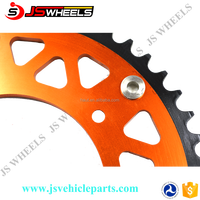 45T SXF 250/300/350/450 Off road Motorcycle CNC colored Rear sprockets