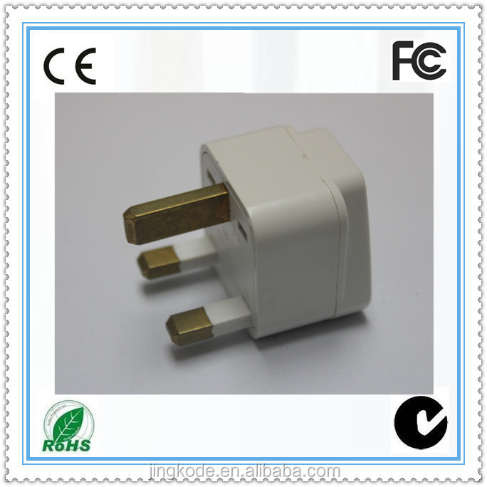 Universal plug adaptor europe to uk plug adapter 13a bs5733 socket