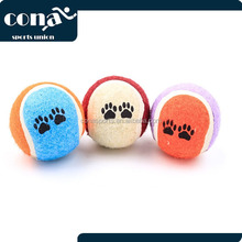 2017 Amazon Hot Sale Customized Cheap Pet Tennis Cute Ball for Wholesales