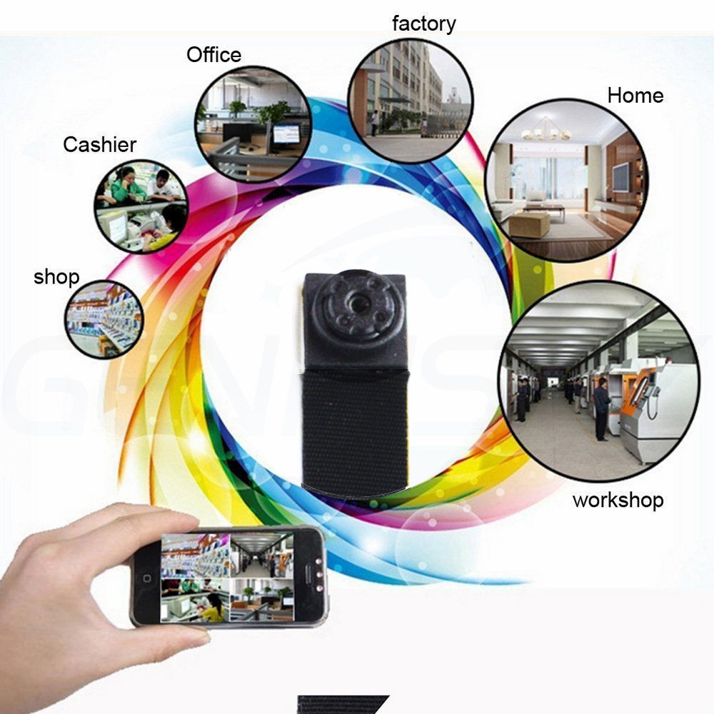 HD Mini Super Small Portable Hidden Spy Camera P2P Wireless WiFi Digital Video Recorder For IOS iPhone Android Phone APP Remote