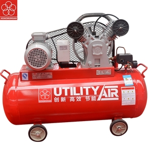 2017 HONGWUHUAN LV4008AS 3kw 4hp 220v portable double head piston air compressor for tyre inflation