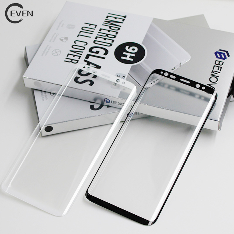 2017 for samsung mobile phone 3D full cover tempered glass s8 plus screen protector