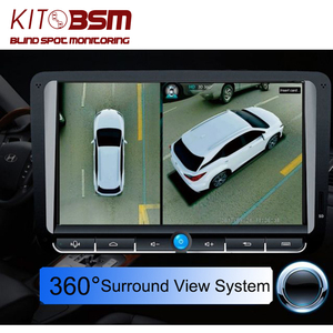 Newst HD 3D 360 Surround View System driving support Bird View Panorama System 4 Car camera 1080P DVR G-Sensor