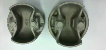 Pistons for engine