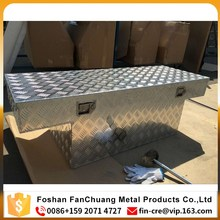 Customized aluminum ute/truck tool box with top opening boxes