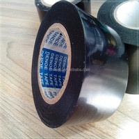 onlin sell websit pvc pipe wrapping tape dacron black tapes