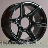 high stength 4x4 suv Chrome alloy wheels with good technic