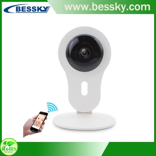 so convenient Smart Home WiFi wireless IP Camera Support Mobilephone View(Iphone,Android) IP Yoose APP small BABY kamera