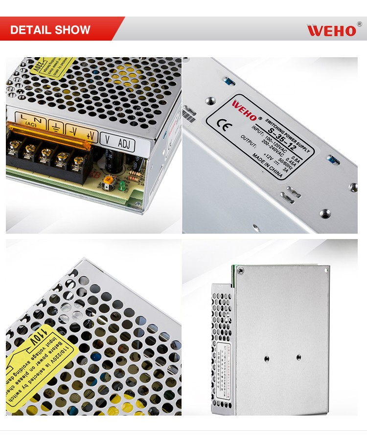 Ac input dc constant voltage 35w regulated dc power supply 24V
