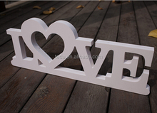 L O V E H O M E M R alphabet letter craft standing party decoration alphabet letter