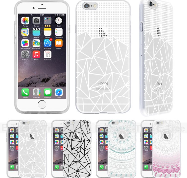 For iPhone Case,Hot Selling Premium Soft TPU Custom Printing Phone Case for Apple iPhone 6 6s