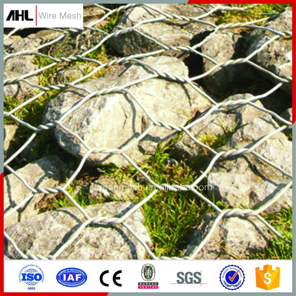 Standard Hexagonal Gabion Wire Mesh High Quality Stainless Steel Wire Mesh Cage Gabion Baskets Stone Boxes Retaining Soil