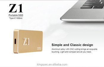 kingspec 1TB Z1 external storage SSD portable SSD disk drive